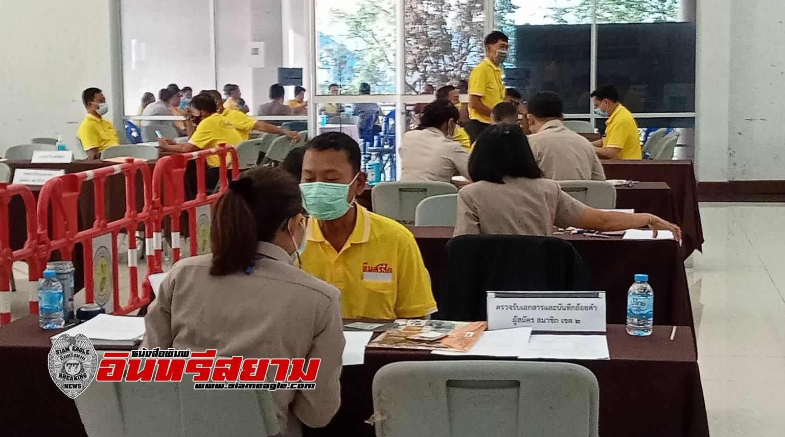 """ชุมพร-""""ทีมศรีชัย""""ถือฤกษ์วันตรุษจีน พาสมาชิกลงสมัครสภาเทศบาลเมือง"""