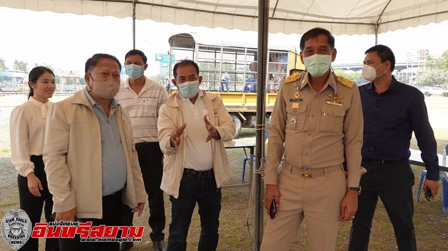 ปทุมธานี-คำรณวิทย์ประกาศพร้อมแล้วศูนย์ตรวจโควิดฟรี