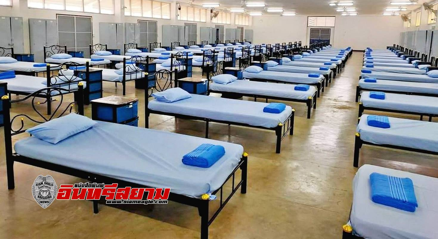 ชลบุรี-รพ.สนามกองทัพเรือ รับผู้ป่วยล่าสุด 214 ราย