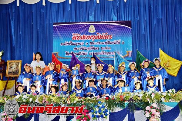 ชลบุรี-โรงเรียนสัตหีบเขตกองเรือยุทธการ มอบวุฒิบัตรเด็กชั้นอนุบาล