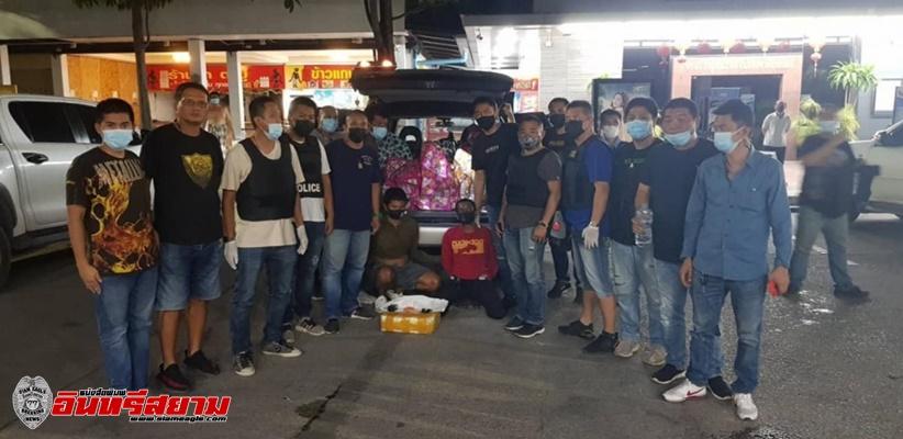 เพชรบุรี-สืบภาค 7 รวบ 2 หนุ่มเมืองเพชร-ประจวบฯ ลักลอบขนยาบ้า 2 ล้านเม็ด