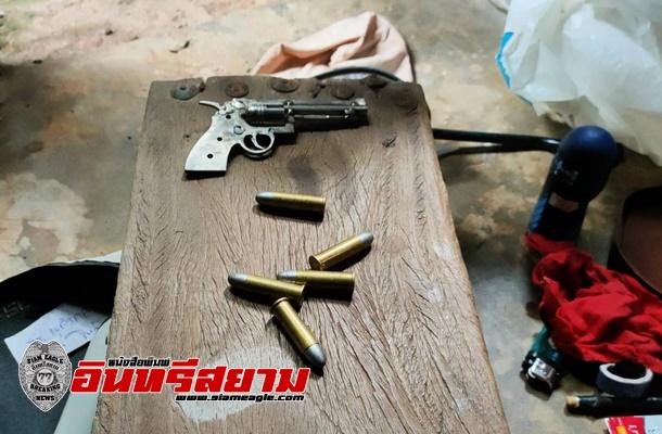หนองคาย-ตร.ท่าบ่อ กวาดล้างแก๊งยาเสพติด ยึดยาบ้า กัญชา กระสุนปืน