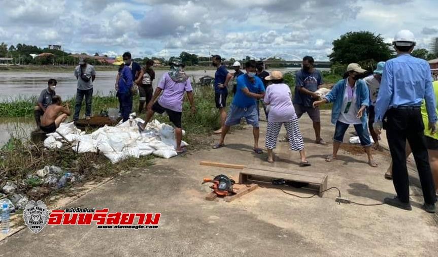 นครสวรรค์-เทศบาลนครฯเตรียมรับมือน้ำเหนือ หลังระดับแม่น้ำเจ้าพระยาเพิ่มต่อเนื่อง