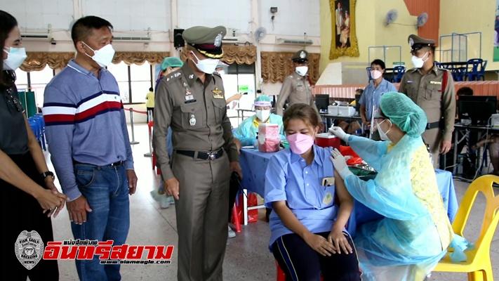 ราชบุรี – คึกคัก! ฉีดวัคซีนให้นักเรียน อ.โพธาราม นำร่องวันแรก 2,149 คน